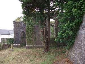 St Marys Church Is Being Cleaned Up As Part Of The 2011 Delvin Tidy Towns Campaign