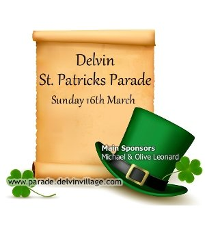 Delvin St Patricks Parade 2014 - Sunday 16th March