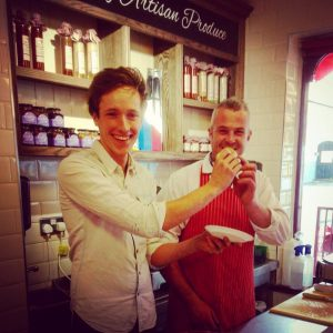 Chef Adrian's Visit October 2015