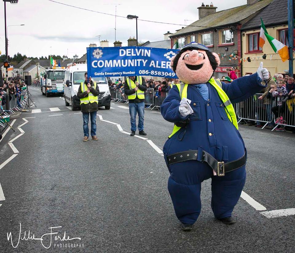 Delvin Community Alert - Photo: Willie Forde