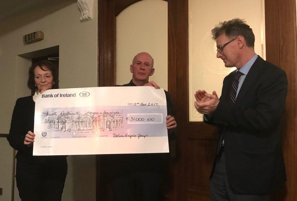 2017 Hospice Cheque Presentation