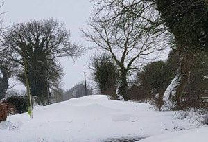 Killulagh in the snow 2 - courtesy of Irene O'Ciardha