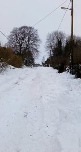The Ballyhealy Road - Courtesy of Bernie Behan