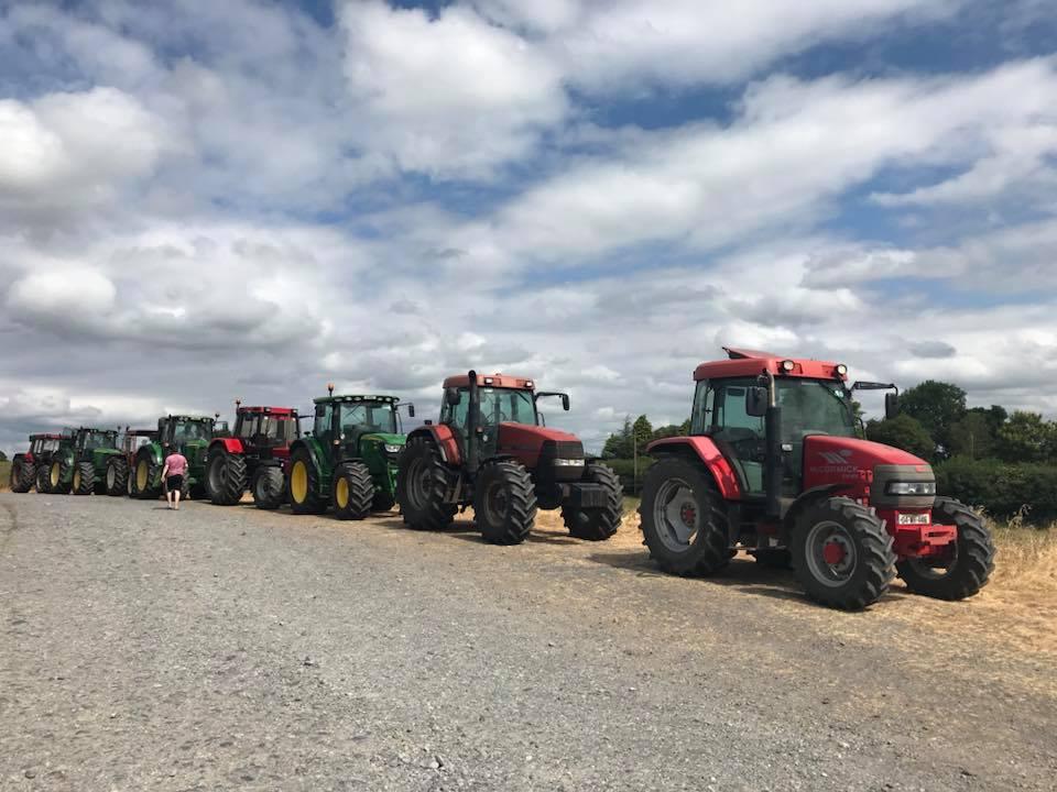 Delvin Tractor Run 2018