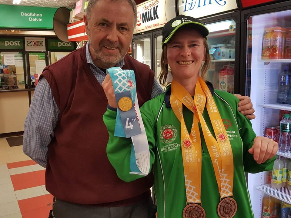 Special Olympics Champion - Mary Daly