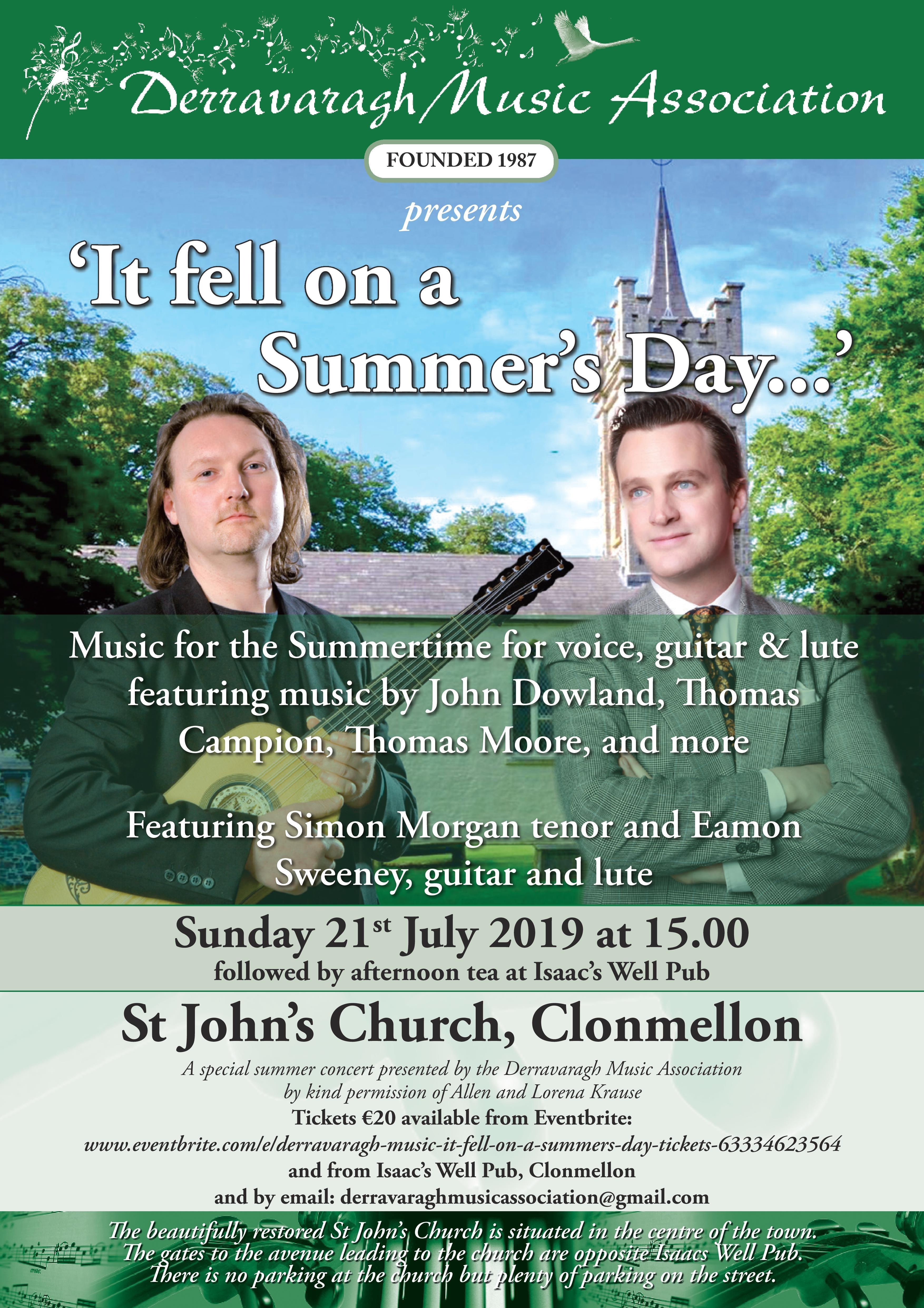 Summer Concert at St John's, Clonmellon