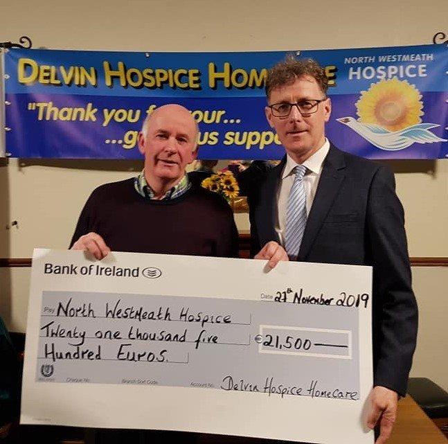 2019 Hospice Cheque Presentation