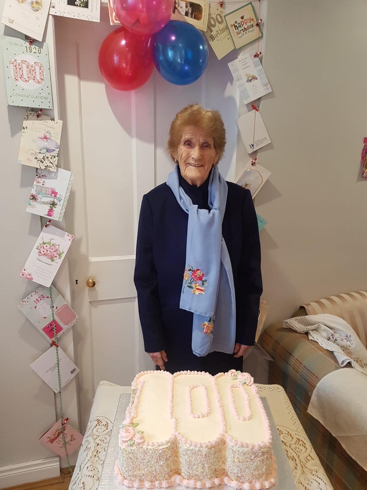 Mrs Farrington Celebrates 100th Birthday