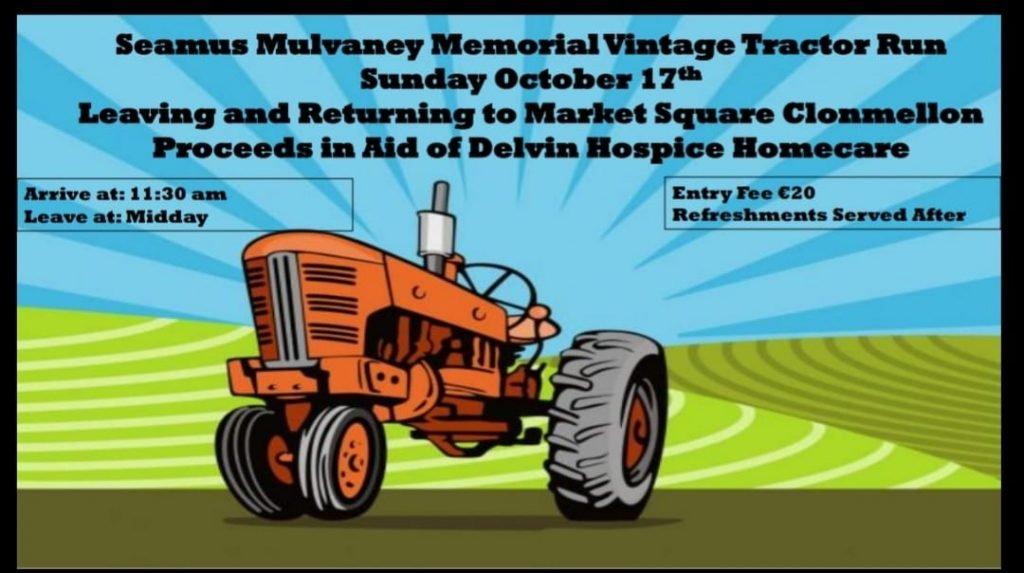 Seamus Mulvaney Memorial Vintage Tractor Road Run